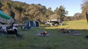 Bush Campsite, Hunter Valley NSW