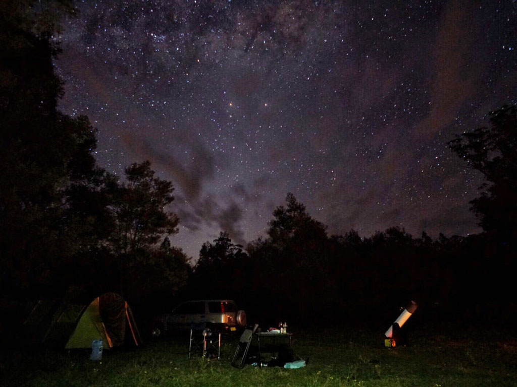 Camping Under The Stars. How's The Serenity! (Photo By Dermot O Sullivan)